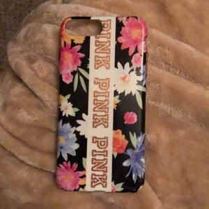 Pink phone case used in great condition